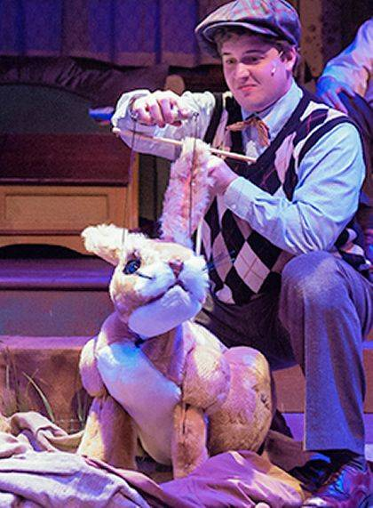 Darke County Center for the Arts will open its 2019-2020 Family Theatre Series season with Virginia Repertory Children's Theatre's adaptation of The Velveteen Rabbit.