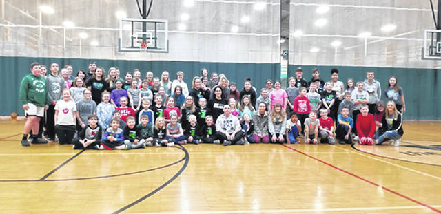 Bethany J. Royer-DeLong | Darke County Media Darke County We are the Majority, an after-school leadership program with a focus on drug and alcohol-free peer-led prevention, hosted its third annual Snowball Day at the Greenville YMCA on Monday.