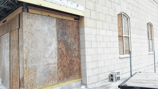 The new security annex project at the Darke County Courthouse will be delayed for about a month, commissioners learned Wednesday.