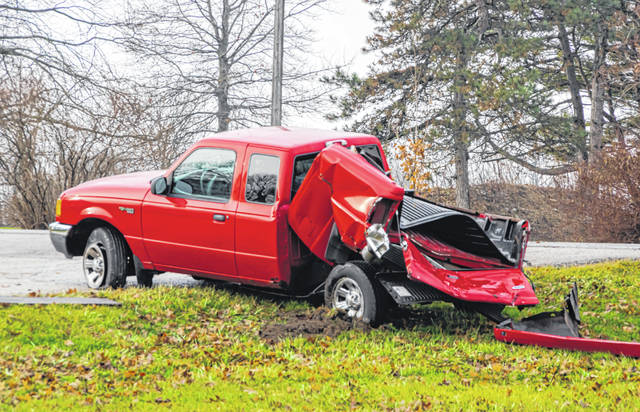 A two-vehicle accident on Saturday in Neave Township resulted in both drivers being treated for minor injuries.