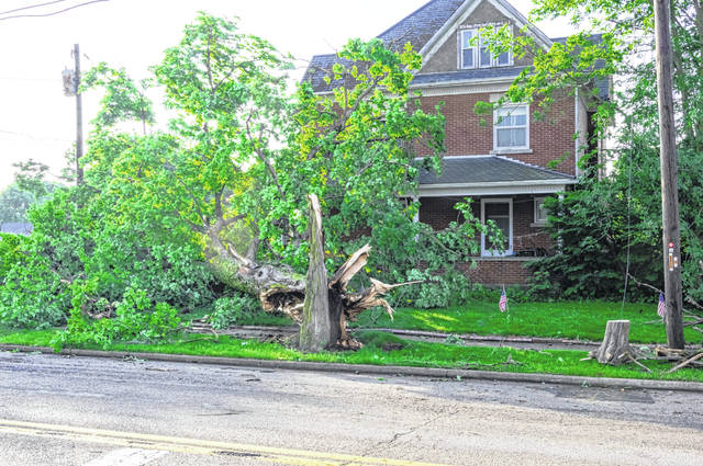 Memorial Day tornadoes ripped through the Miami Valley on May 27, leaving a path of damage in southern Darke County.