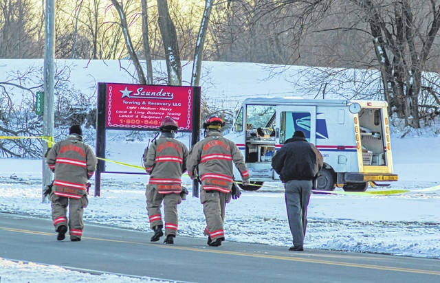 Emergency personnel were called to assist with a HAZMAT incident involving a mail carrier in Greenville on Thursday afternoon.