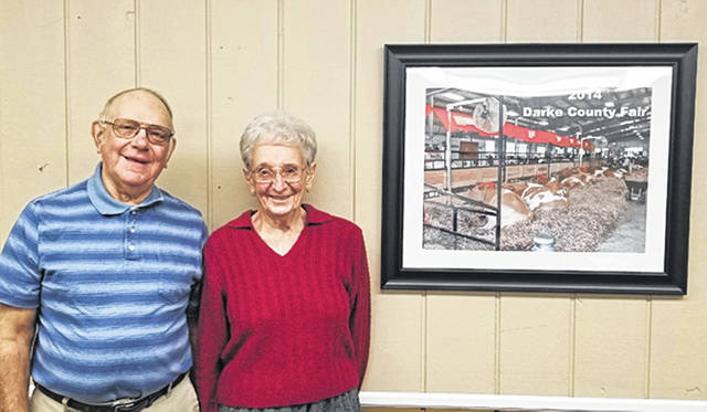 Lois and Gordon Smith were chosen by the Darke County Fair Board of Directors as the 2020 Great Darke County Fair parade marshals last week.