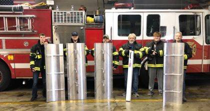 "<p class=""body"">HOLLANSBURG – The Hollansburg Community Fire Dept. received a grant from Cargill to purchase a Grain Rescue Tube and Grain extractor. The grant award was $2,600. Firefighter Travis Frech, Lt. Mike Preddy, Firefighter Anthony Puthoff, Fire Chief Trent Mote, Firefighter Tanner Mote and Asst. Chief Kevin Frech Sr. are in the picture. The Grain Rescue Tube and Extractor will enable the fire department to do grain bin rescues more efficiently and safely when it comes to this type of emergency. The fire department thanks Cargill for their donation."