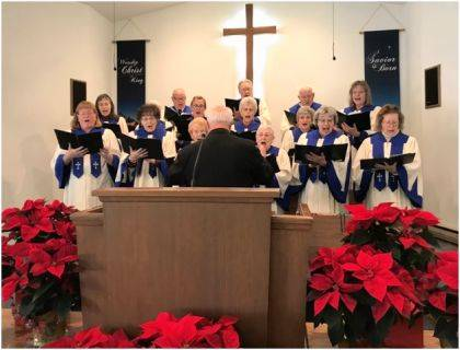 The Harrisville Church will present its Christmas Cantata and Nativity on Dec. 22.