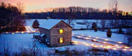 The Shawnee Prairie will be lit up with 450 luminaries during Walkin' in a Winter Wonderland.