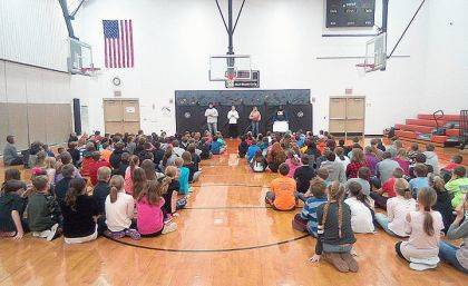 "Edison State Community College students told more than 160 Ansonia students, grades 4 through 6, that bullying isn't ""cool."" Nine other teams recently made the same presentations to Greenville 5th and 6th graders, Tri-Village, Bradford, Kiwanis of Greenville and the Greenville Public Library."