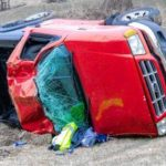 Teen saved by seat belt in crash