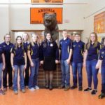 State vice-president visits Ansonia FFA