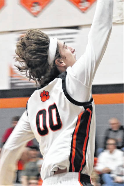 Matthew Farrier scores for Ansonia in Tuesday night win over Arcanum