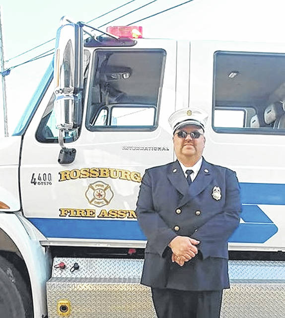 Rob Widener I has been selected to serve as the next chief for the Rossburg Fire Department Station 17, and he's ready for the challenge. He has been on the department for 32 years, the last 20 of which he was assistant chief.
