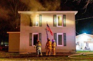 Quick actions may have save home from fire