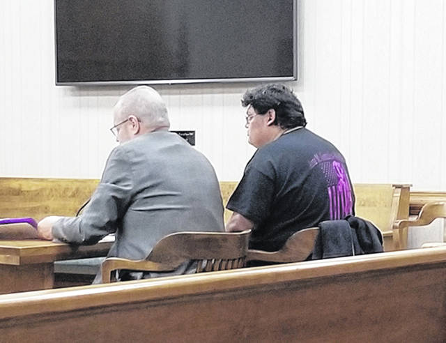 Bethany J. Royer-DeLong | Darke County Media Melecio Gonzales went before Judge Jonathan P. Hein for failure to register, a third-degree felony, on Monday.