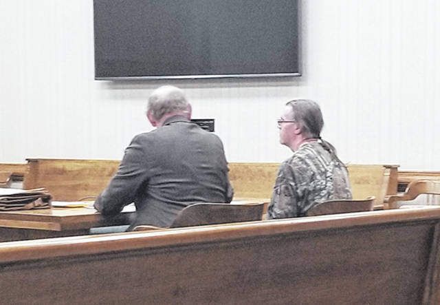 Bethany J. Royer-DeLong | Darke County Media Nathan A. Sprowl went before Judge Jonathan P. Hein on a charge of receiving stolen property, a fifth-degree felony, on Thursday.