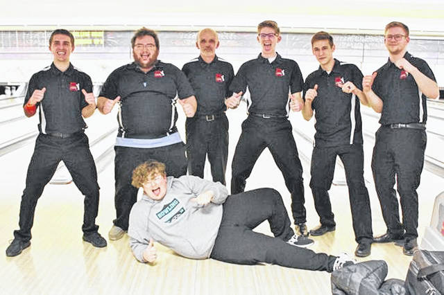 The Mississinawa Valley record breaking boy bowling team headed to State.