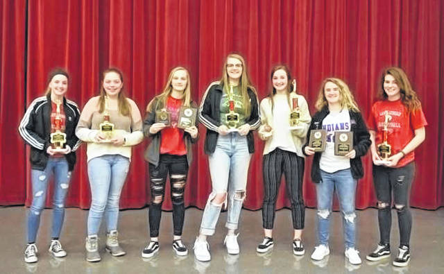 The Union City Indians girls basketball program recently held its annual awards banquet.