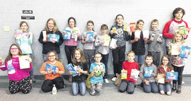 The Ansonia Animal 4-H Club recently collected items for the Hands Across the Darke 4-H Club to give to Hospice for their patients. The 4-H clubs joined with other local groups working together to provide community service for cancer patients.
