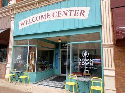 They have been in the same office for several years, now the Darke County Visitors Bureau and Main Street Greenville are partnering to have one executive director.