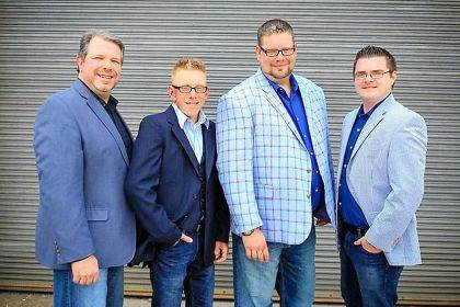 GloryWay Quartet will be sharing their music in Greenville on Feb. 16.