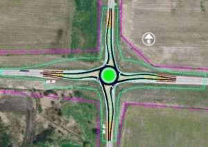 Roundabout planned for US 36 and SR 121