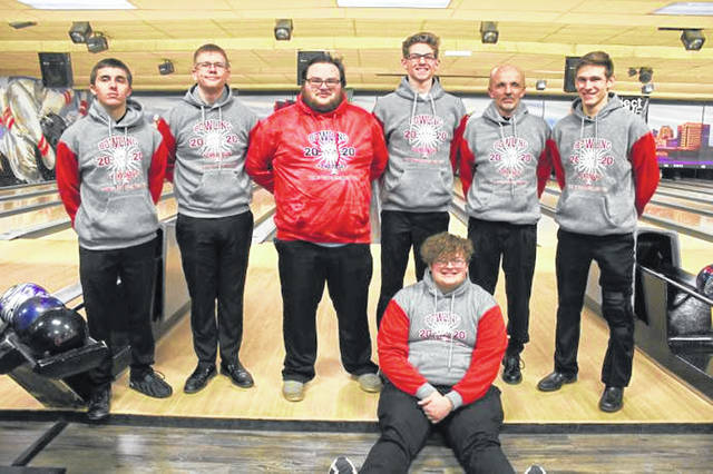 The 2019-2020 Mississinawa Valley Blackhawks boys bowling team earns State appearance.