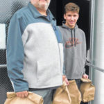 Ansonia students get sack lunches