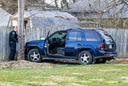 The Greenville Police Department believes speed may have been a factor in a crash at Jackston and Sherman Streets.