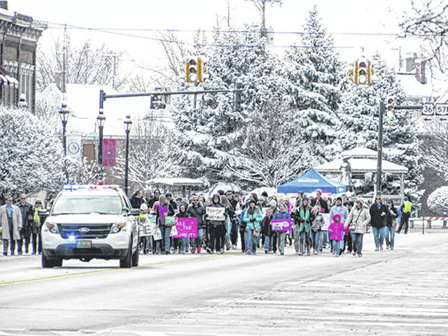 File photo Pictured is a previous We Are The Majority (WATM) Awareness Walk; this year the walk will look a little different as participants practice social distancing.