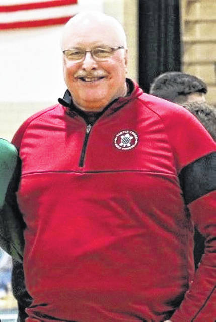 Franklin Monroe 1967 alum Dan Franz holds the all-time single game OHSAA rebounding record for the State of Ohio.