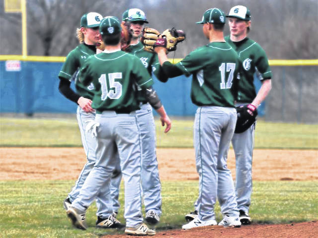 The Greenville varsity baseball team gets in a scrimmage win a day before high school sports were suspended.