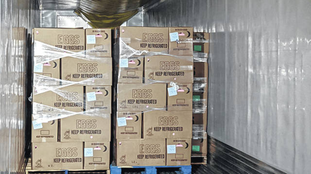 Provided photo Cooper Farms, located in western Ohio, has made several donations over the past month, including over 21,000 protein-rich meals.