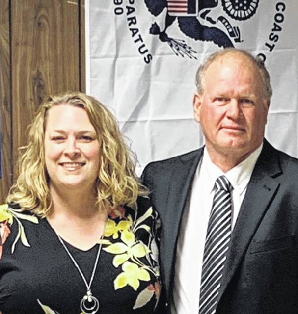 Lugene Ignaffo is now the state president of the Ohio Elks Association, and his girlfriend, Jennifer Anderson, also shown, is First Lady.