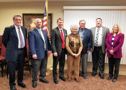 Republican candidates running for office in the Primary Election addressed the Darke County Republican Women's Club.