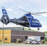 Child treated for fire injuries