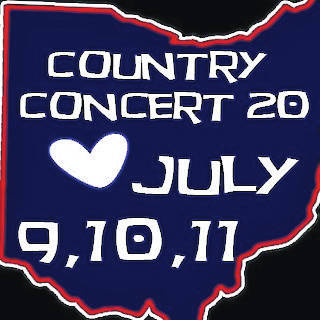 Country Concert 2020, scheduled to be held in Fort Loramie July 9 to 11, has been cancelled. Organizers plan to hold a 2021 event.