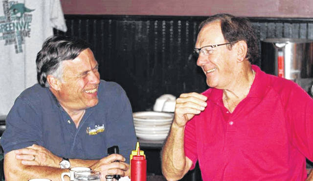 (L-R) Dr. Steve Gruber and Larry Masters.
