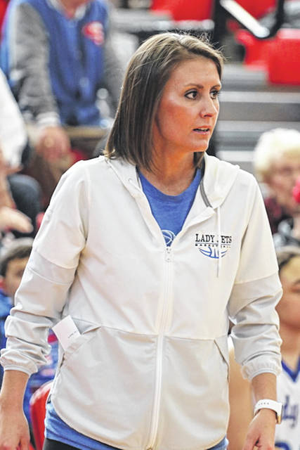 Abbey Moore accepts Arcanum Trojans athletic director job and Lady Trojans basketball coaching position.