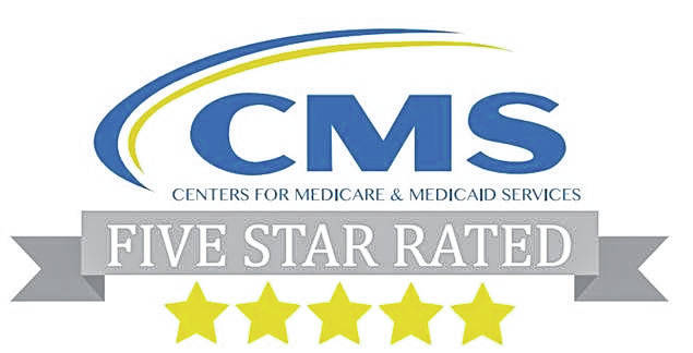 Wayne HealthCare in Greenville has earned a five-star overall quality score from The Centers for Medicare & Medicaid Services, a federal agency that regulates and oversees the nation's hospitals.