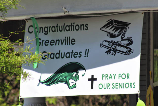 "Greenville High School held a ""Virtual Graduation"" Saturday."