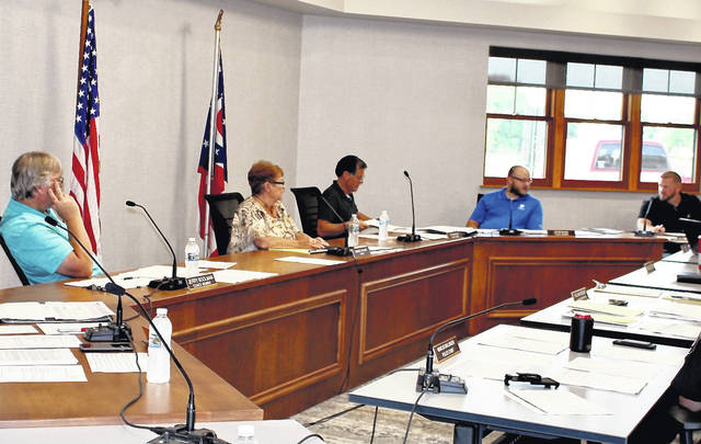 Arcanum Village Council met Tuesday evening. Among the items discussed was an extension of Ivester Park.