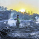 Castine barn destroyed in 3-alarm fire