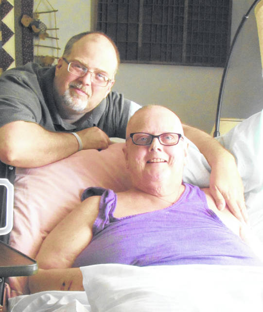 Ed Howerton is doing everything in his power to make wife Theresa's battle with brain cancer comfortable. He quit his trucking job to ensure that.