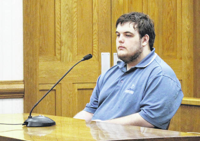 Damian Berry of Versailles appeared in Darke County Common Pleas court Friday. He was indicted on eight counts of pandering obscenity and pandering sexually oriented matter involving a minor.