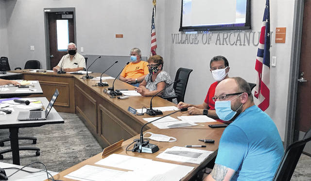 Arcanum Village Council met Tuesday evening to discuss improvements and adopt resolutions for new computer equipment.