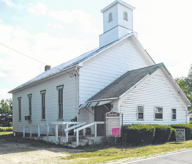Rose Hill Church in northern Darke County, located on McFeeley-Petry Road just off of State Route 49-North, has been put on the real estate market.