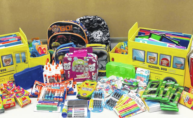 """The Darke County United Way's """"Stuff A Bus"""" campaign is now underway, seeking to provide area children with school supplies."""