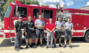 Local man donates meals to Greenville Fire Department