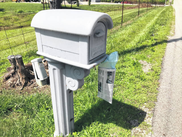 The Greenville branch of the U.S. Post Office has sent notifications to many rural residents that they must readjust the height of their mailboxes.