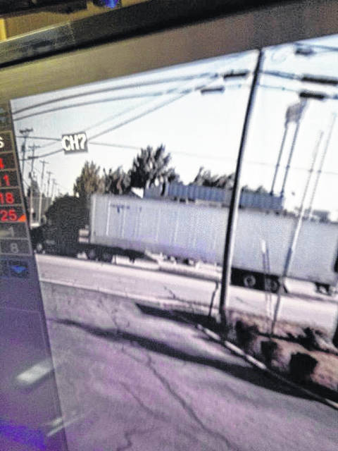Sidney Police officers are seeking information on a semi tractor trailer suspected of striking a bicyclist on Michigan Street in Sidney.