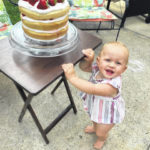Elliana Hawkey celebrates 1st birthday